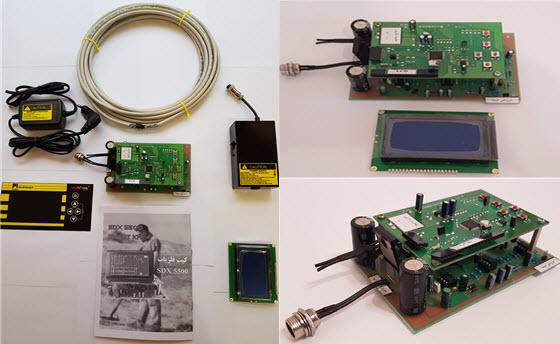 کیت SDX5500 کیت و ماژول فلزیاب قدرتمند SDX5500