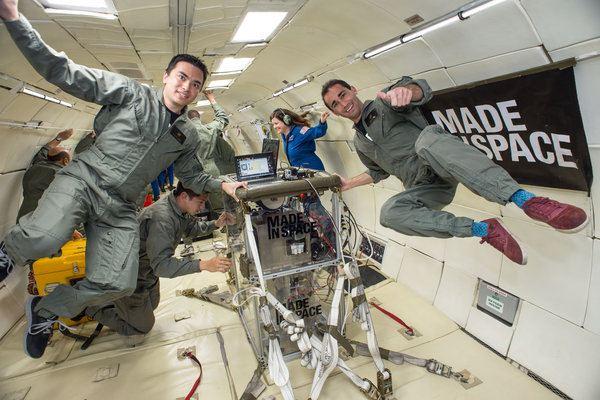 1134 ناسا برای اولین بار پرینتری سه بعدی را به فضا می فرستد